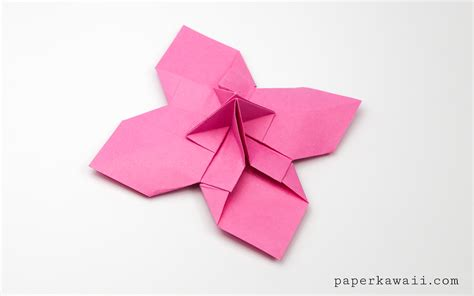 origami up origami flower card holder paper kawaii