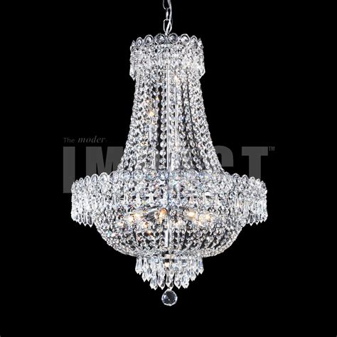 impact chandeliers r moder 40635s22 imperial impact chandelier