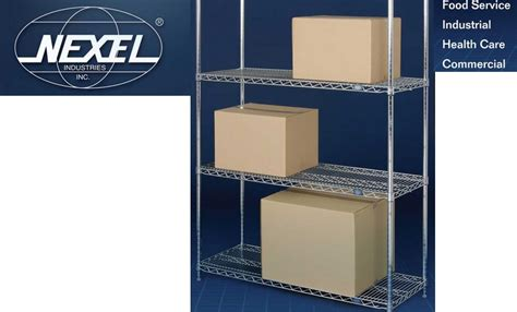 nexel wire shelving nexel wire shelving wire shelving chrome wire shelving
