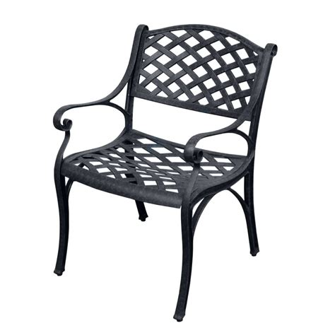black metal patio chairs two antiqued black cast aluminum outdoor patio furniture chairs set ebay