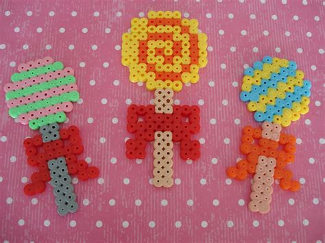 bead projects cupcake cutie hama bead projects