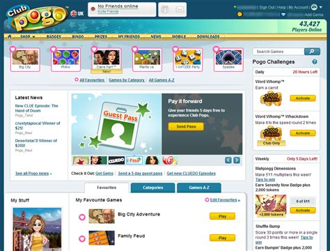 clubpogo scrabble new club pogo home page rolling out