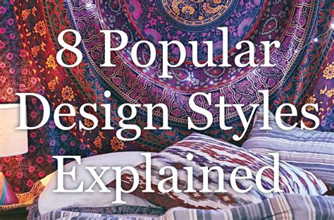 home design styles explained best 25 types of interior decorating styles types of