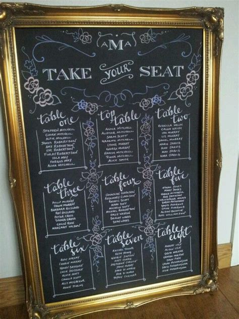 diy chalkboard seating chart pin by clarissa ferguson on wedding diy