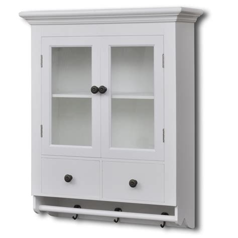 glass door kitchen wall cabinets white wooden kitchen wall cabinet with glass door vidaxl