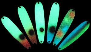glow in the jig paint glow in the lures