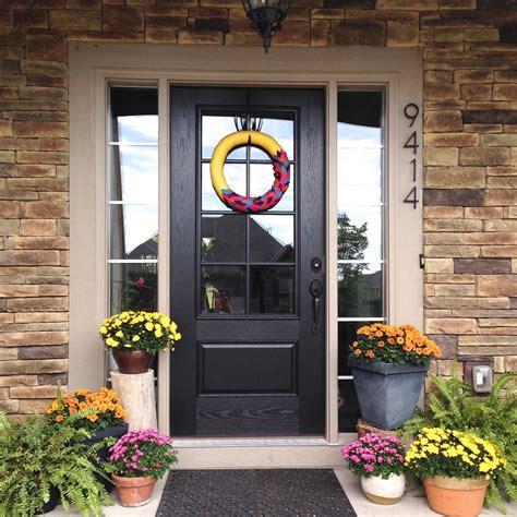 larson new glass panel front door