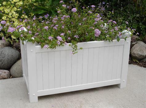 large planter boxes new dura trel large white lattice garden planter box for