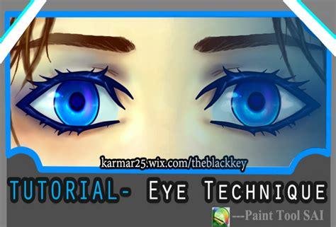 paint tool sai para que sirve tutorial eye technique by kalisami on deviantart