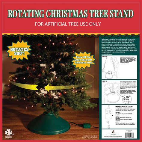 home logic rotating tree stand home logic rotating artificial tree stand