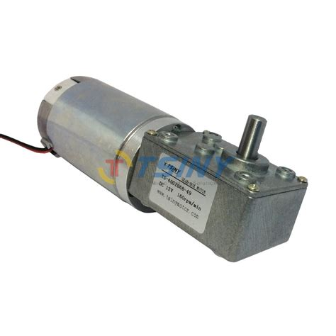 Electric Motor Reducer by Dc 12v 160rpm High Torque Worm Reducer Geared Motor