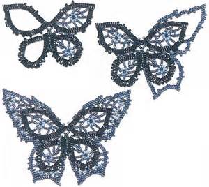 beaded butterfly pattern beaded jewellry beaded necklace with butterfly beaded
