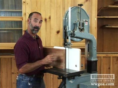 utube woodworking woodworking tips band saw resawing
