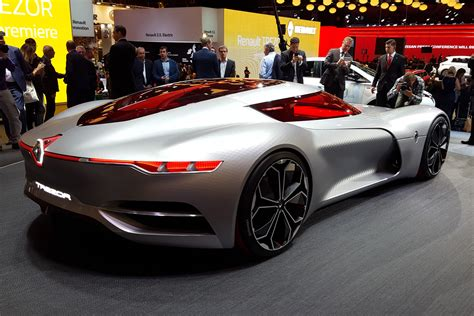 Renault Concept Car by Renault Trezor Concept Car Revealed In Pictures