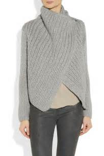 knit cardigan pattern helmut lang bulky rib knit sweater the easy wrap