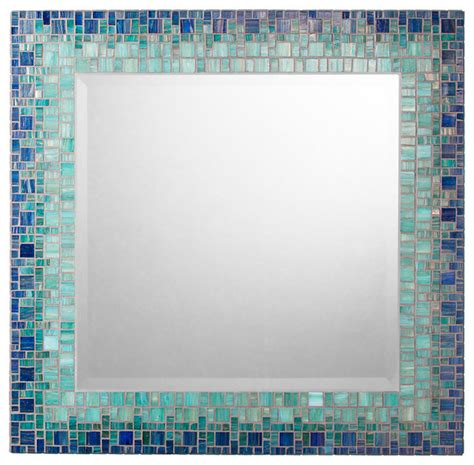 mosaic tile bathroom mirror classic collection mosaic mirrors contemporary