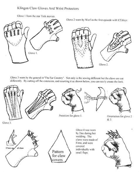 origami claw glove makingscratch