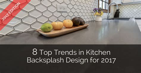 Cherry Kitchen Cabinets With Granite Countertops 8 top trends in kitchen backsplash design for 2017 home