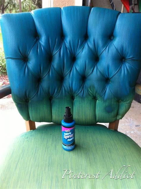 in the fabric paint addict tulip fabric spray paint chair