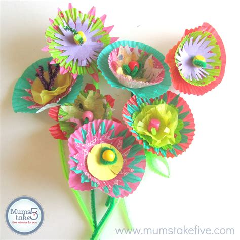 paper flower craft for children paper flower craft