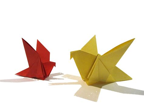 origami with easter origami bird easy origami tutorial how to make