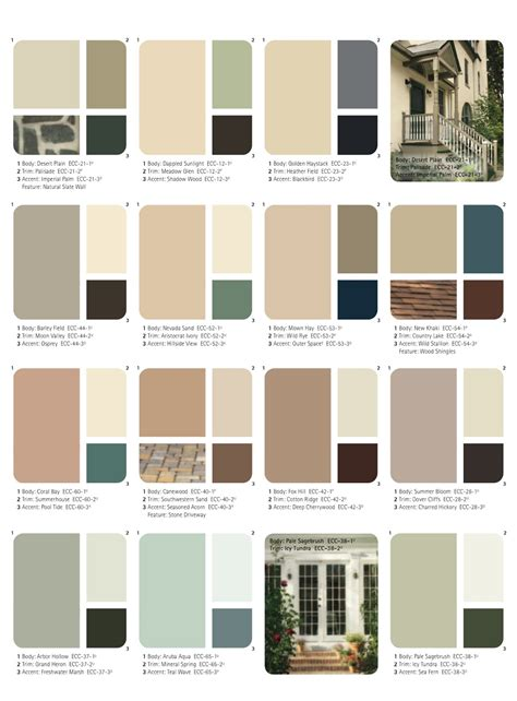 behr exterior paint color palette home depot house paint home painting ideas
