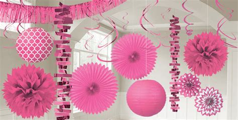 pink decorations bright pink decorations bright pink balloons banners
