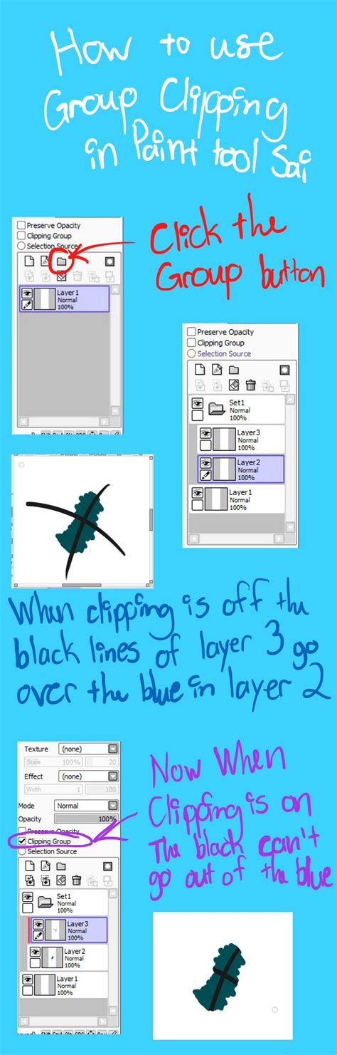 paint tool sai layer tutorial paint tool sai clipping by diagonaleast on deviantart