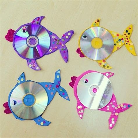 free craft for 25 best ideas about cd fish crafts on cd