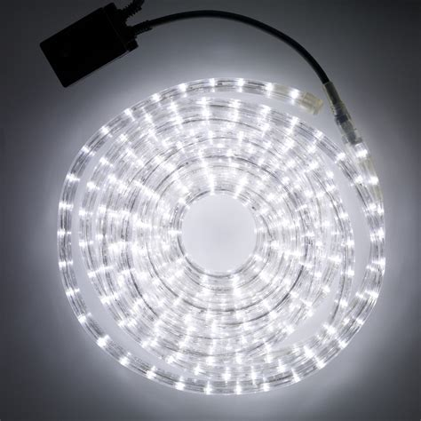 led lights white 8m white led rope light indoor outdoor use lights4fun