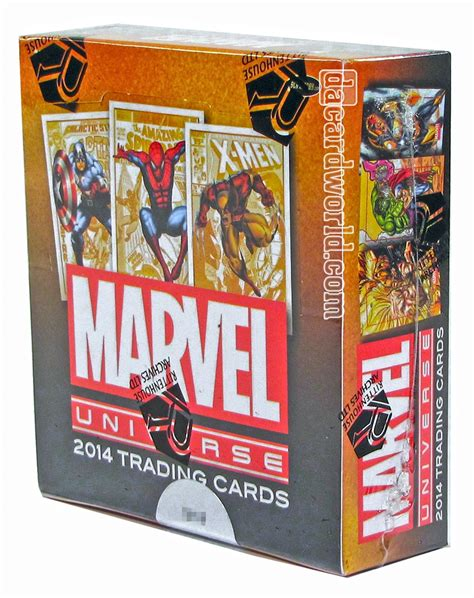 trading card marvel universe trading cards box rittenhouse 2014 da