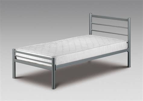 small metal bed frame small single bed metal frame new 2ft6 alpen with or