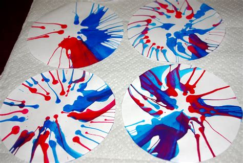 4th of july crafts salad spinner quot fireworks quot tutorial happiness is