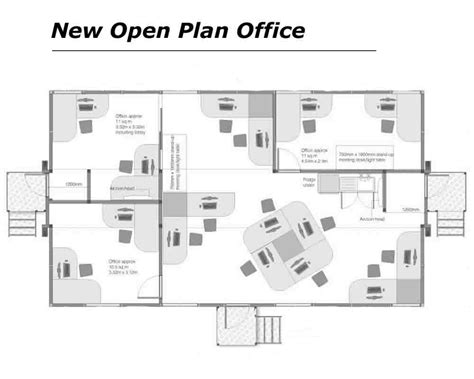 open floor plan office office floor plans house plans luxury