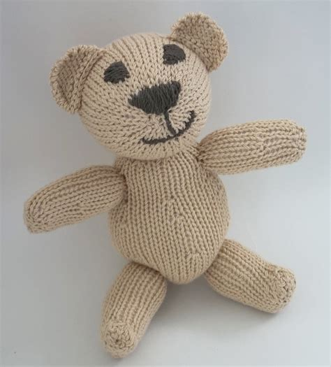 knitted teddy patterns uk teddy knitting pattern