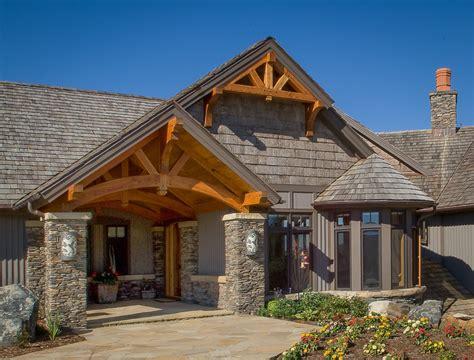 Farm House Porches timber frame entryways