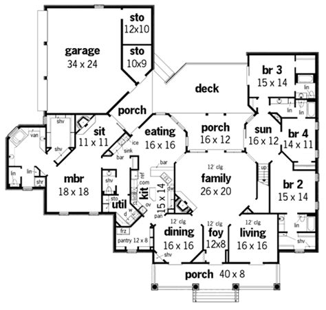 plantation house floor plans house springhill plantation 4001 house plan green builder house plans