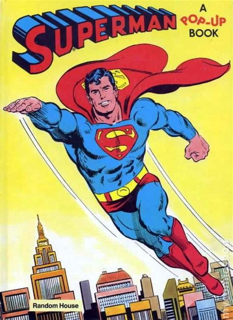 superman comic book pictures superman pop up book hc 1979 comic books