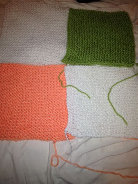 flat panel knitting loom dont underestimate the garter stitch made on blue