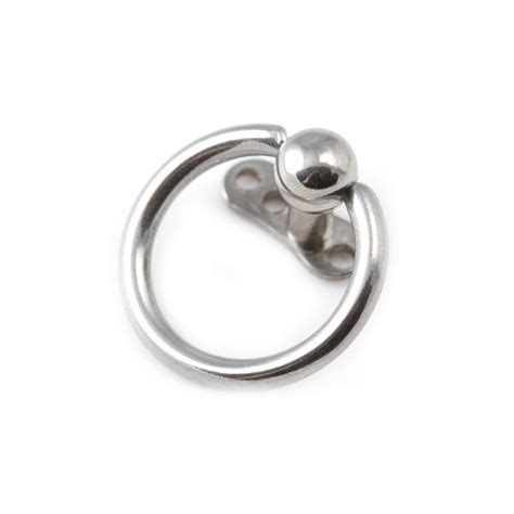 captive bead ring piercing 316l surgical steel captive bead ring for microdermal piercing