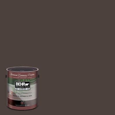 behr paint colors eggshell 1 gal ul160 23 espresso beans interior eggshell enamel