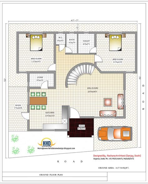house floor plans india april 2012 kerala home design and floor plans