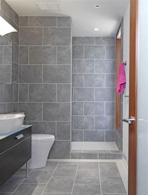 grey tiled bathroom ideas grey tile bathroom ideas home decorating excellence