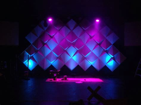 stage design for how to create big stages with small budgets materials