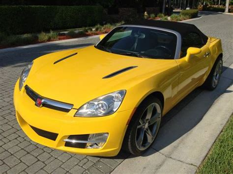 how to sell used cars 2007 saturn sky auto manual sell used 2007 saturn sky convertible 2 door 2 4l yellow