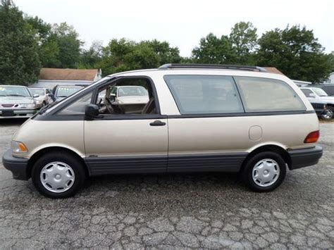 how to sell used cars 1995 toyota previa spare parts catalogs find used 1995 toyota previa le awd supercharged 1 owner runs well no reserve in round lake