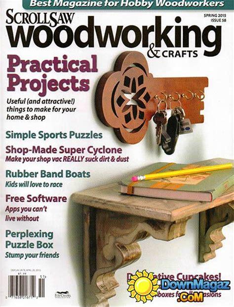 scroll saw woodworking magazine free scrollsaw woodworking crafts 58 2015