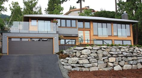 split level contemporary house plan 80789pm 1st floor modern split level home exteriors ophscotts dale