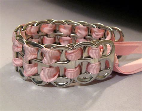 pop tab crafts projects bracelets from soda can tabs 183 how to make a pop tab