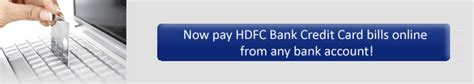 make hdfc credit card payment hdfc bank credit card